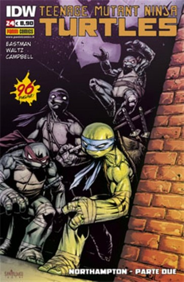 TEENAGE MUTANT NINJA TURTLES 24