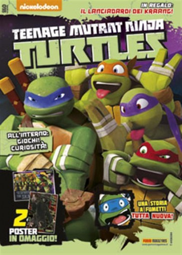 TEENAGE MUTANT NINJA TURTLES MAGAZINE 18