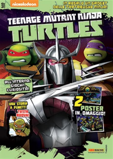 TEENAGE MUTANT NINJA TURTLES MAGAZINE 19