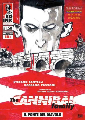 THE CANNIBAL FAMILY - SPECIALE RIMINICOMIX 2015