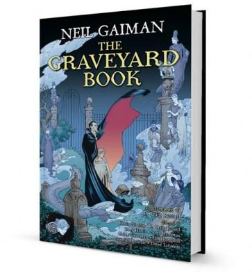 THE GRAVEYARD BOOK - CARTONATO
