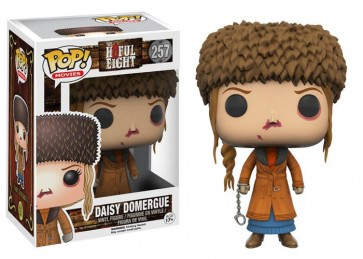 THE HATEFUL EIGHT STORY - POP FUNKO VINYL FIGURE 257 DAISY DOMERGUE