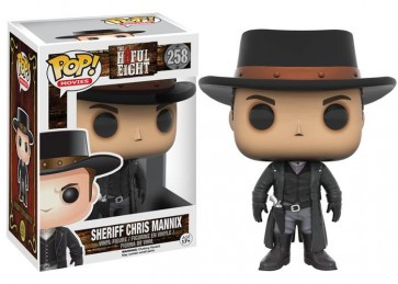 THE HATEFUL EIGHT STORY - POP FUNKO VINYL FIGURE 258 CHRIS MANNIX