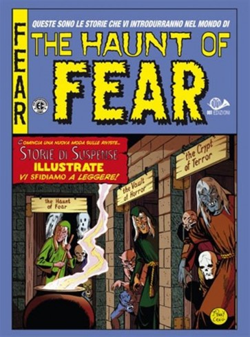 THE HAUNT OF FEAR - COFANETTO VUOTO