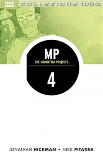 THE MANHATTAN PROJECTS 4 - QUATTRO - 100% PANINI COMICS