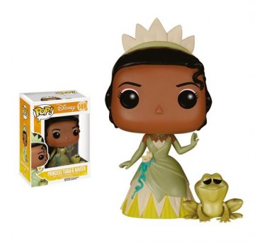THE PRINCESS AND THE FROG DISNEY - POP FUNKO VINYL FIGURE 149 - PRINCESS TIANA & NAVEEN 9CM