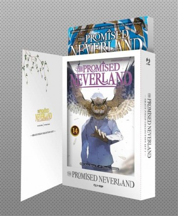 THE PROMISED NEVERLAND - GRACE FIELD COLLECTION SET 1 (NOVEL 1 + VOL.14)