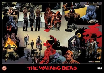 THE WALKING DEAD - I POSTER DEL DECENNALE - 10 ANNI DI TWD