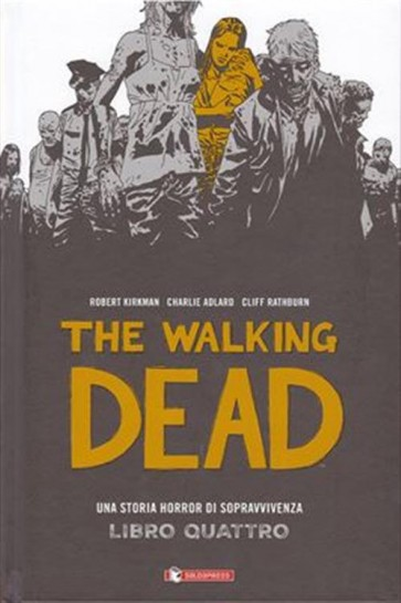 THE WALKING DEAD HARDCOVER 4