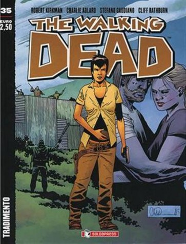 THE WALKING DEAD NEW EDITION 35 - COVER B