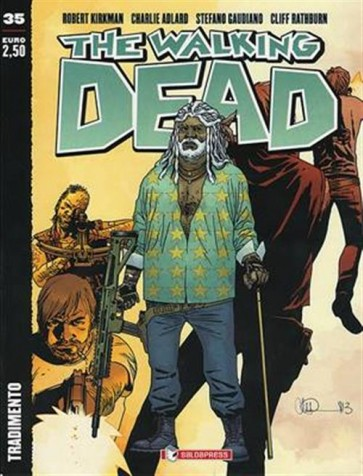 THE WALKING DEAD NEW EDITION 35 - TRADIMENTO