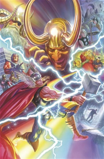 THOR 7 - ALL NEW MARVEL NOW - VARIANT COVER ANNIVERSARI