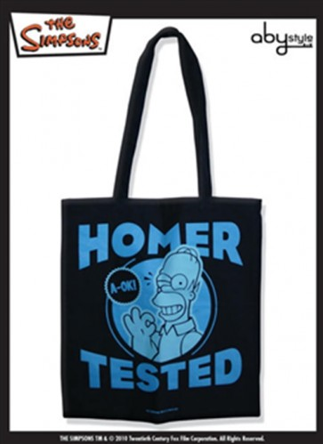 TISSU BAG SIMPSONS HOMER TESTED