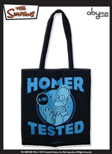 TISSU BAG SIMPSONS HOMER TESTED