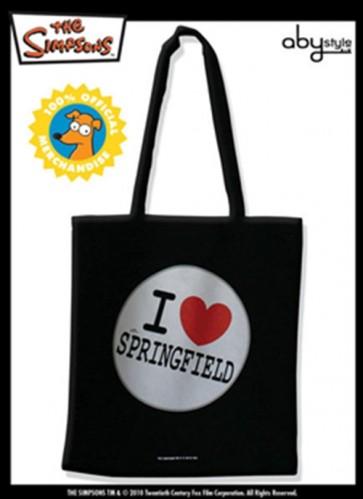 TISSU BAG SIMPSONS I LOVE SPRINGFIELD