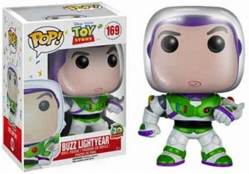TOY STORY 20TH ANNIVERSARY - POP FUNKO VINYL FIGURE 169 BUZZ LIGHTYEAR 9CM