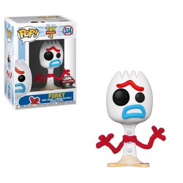 TOY STORY 4 - POP FUNKO VINYL FIGURE FORKY COMICON EXCL