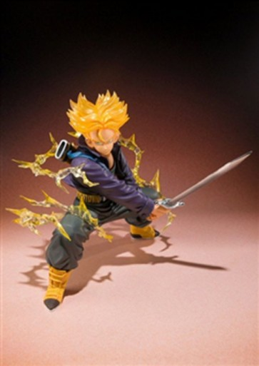 TRUNKS SUPER SAIYAN ZERO FIGUARTS DRAGON BALL FIGURE BANDAI 16 CM