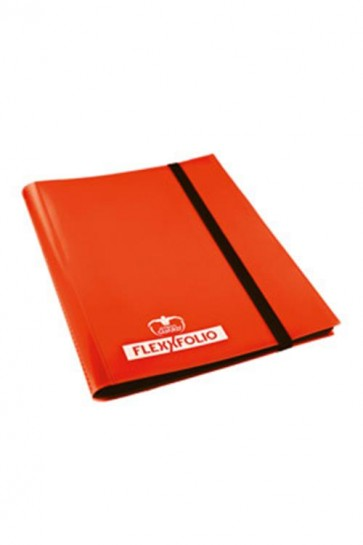 UGD010175 - 9 POCKET FLEXXFOLIO ALBUM - ORANGE