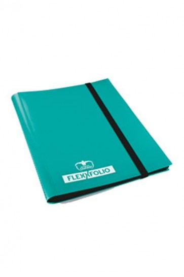 UGD010176 - 9 POCKET FLEXXFOLIO ALBUM - TURQUOISE