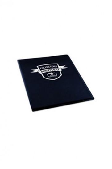 UGD010177 - 4 POCKET PORTFOLIO ALBUM - BLACK