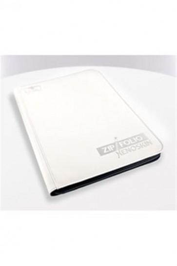 UGD010209 - 9 POCKET ZIPFOLIO ALBUM - XENOSKIN WHITE