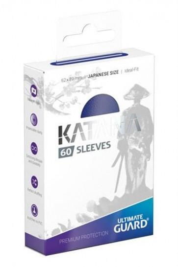 UGD011050 - 60 KATANA SLEEVES JAPANESE SIZE - BLUE