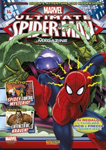 ULTIMATE SPIDER-MAN MAGAZINE 14