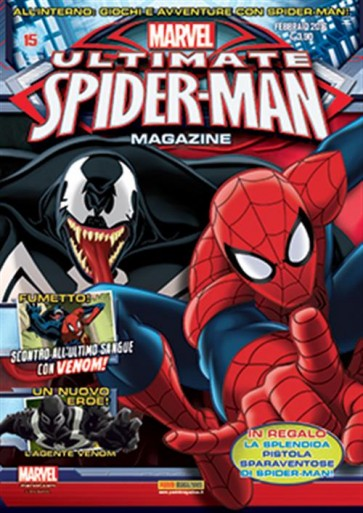 ULTIMATE SPIDER-MAN MAGAZINE 15