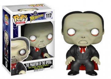 UNIVERSAL MONSTERS - POP FUNKO VINYL FIGURE - 117 THE PHANTOM OF THE OPERA 9CM