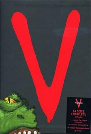V: VISITORS - LA SERIE COMPLETA (DVD)