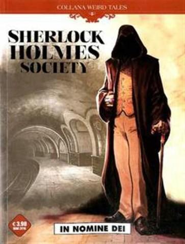 WEIRD TALES 15 - SHERLOCK HOLMES SOCIETY - IN NOMINE DEI