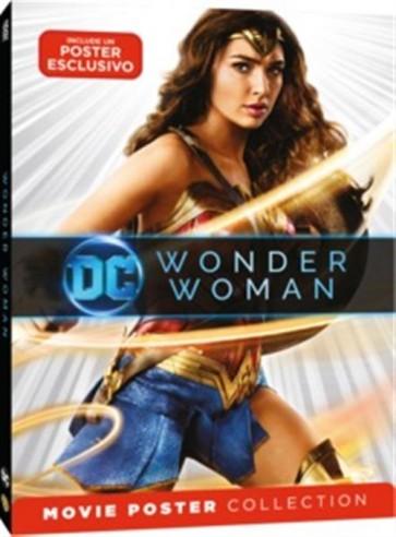 WONDER WOMAN - MOVIE POSTER - DVD