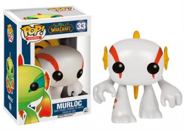 WORLD OF WARCRAFT - POP FUNKO VINYL FIGURE 33 WHITE MURLOC 10 CM