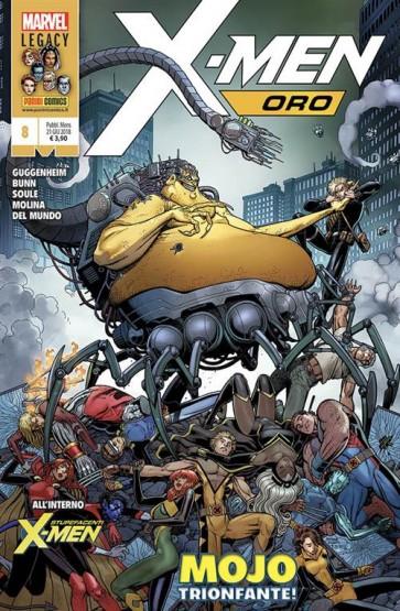X-MEN ORO 8
