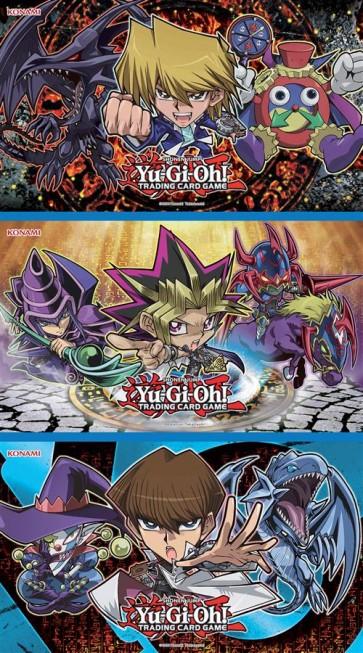 YU-GI-OH! - DUELIST KINGDOM CHIBI GAME MAT - SET 3 TAPPETINI