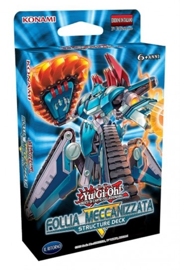 YU-GI-OH! STRUCTURE DECK: MECHANIZED MADNESS - ITA