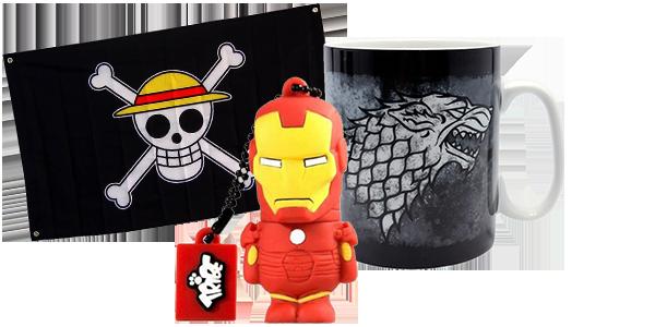 Gadget e tazze fumetti, cartoni animati e serie TV