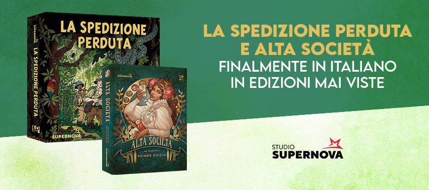 La Spedizione Perduta e Alta società, finalmente in italiano!