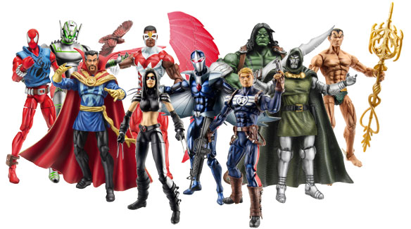 Action Figures Marvel